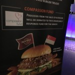 Charity burger sale for Compassion Fund :)