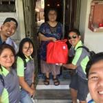 CNY Goody-bags distribution